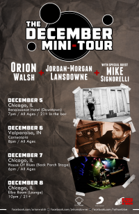 Orion Walsh, Jordan-Morgan Lansdowne, Mike Signorelli Tour
