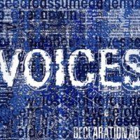 Declaration AD – Voices