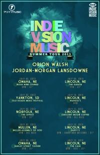 IVM Presents: Jordan Morgan Lansdowne and Orion Walsh Summer Tour