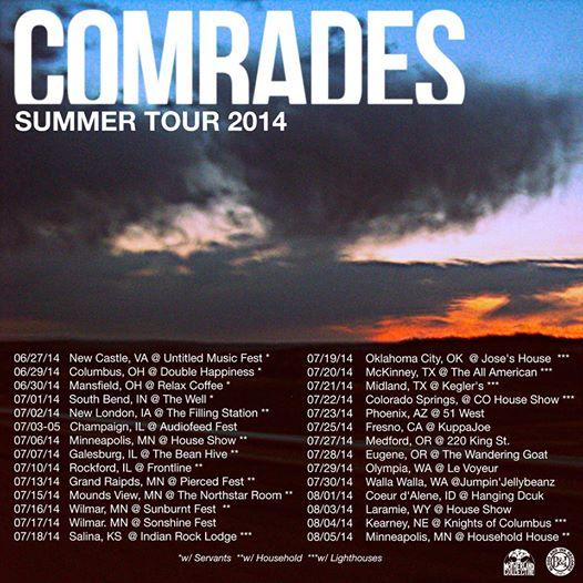 comrades - summertour14