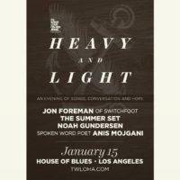 TWLOHA Announces Heavy and Light 2015