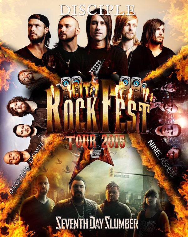 City Rock Fest Tour