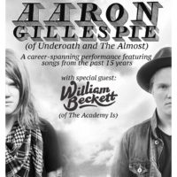 Aaron Gillespie to Embark on Career-Spanning Acoustic Tour