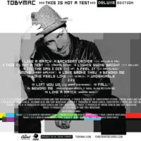 Tobymac Reveals 'This Is Not A Test' Tracklisting, Includes DC Talk Reunion