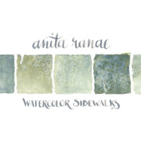 Anita Ranae - Watercolor Sidewalks