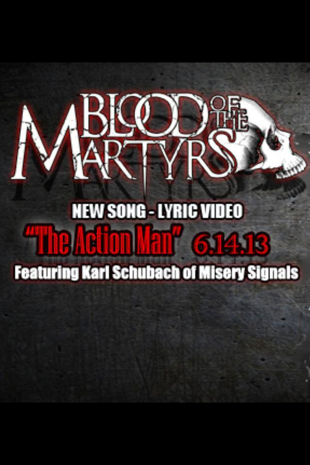 Blood Of The Martyrs The Action Man Lyric Videos Indie Vision